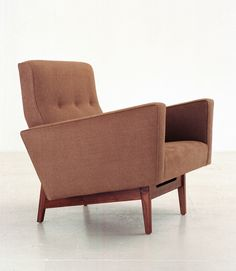 Easy Chair with Arms by Jens Risom for Ralph Pucci