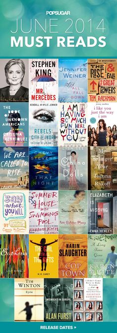 Pin for Later: June Must Reads