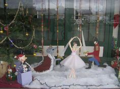 I made the nutcracker characters for our store window display in Union Oregon