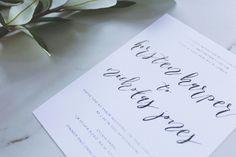 Printed Invitations and Custom Wedding Invitation Designs - Paper Alphabet Invitations Printable Invitations, Custom Invitations, Baby Shower Invitations, Birthday Invitations, Alphabet Design, Unique Wedding Invitations, Custom Design, Place Card Holders, Printed