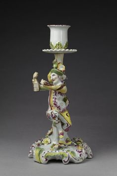 1755-1760 British Candlestick at the Victoria and Albert Museum, London