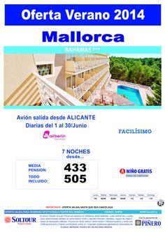 Mallorca: Oferta Hotel Bahamas salidas desde Alicante ultimo minuto - http://zocotours.com/mallorca-oferta-hotel-bahamas-salidas-desde-alicante-ultimo-minuto/