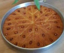 Rezept Basboussa - arabischer Grießkuchen von Tina4786 - Rezept der Kategorie Backen süß