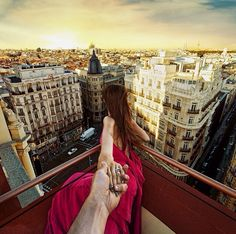 Follow me to the roof of Praktik Hotel in Madrid