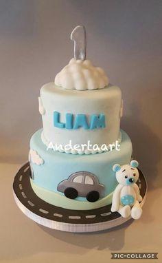 Cute car's cake  by Anneke van Dam