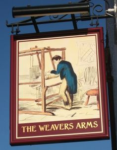 The new owners changed the sign. The Weaver's Arms, on the B4102 Nuneaton Road, Nr. Fillongley, Warwickshire.
