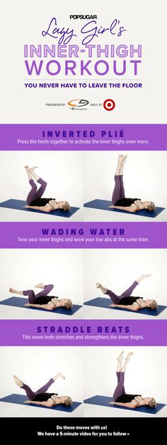 Tone your inner thighs