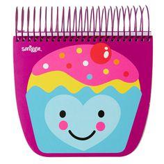 Treats Desktop Notebook Jotter from Smiggle - cupcake