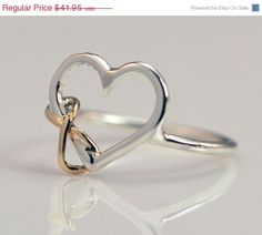 Hey, I found this really awesome Etsy listing at https://www.etsy.com/listing/125206241/christmas-in-july-heart-ring-gold-ring