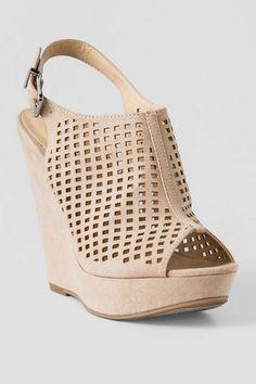Chinese Laundry Shoes, Meet Up Peep Toe Wedge