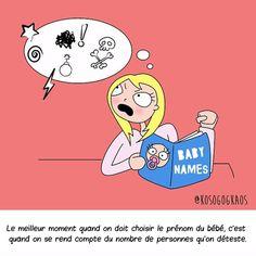Une illustratrice évoque le quotidien des femmes enceintes ! C'est vraiment drôle et réaliste !