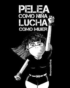 Arte Punk, Protest Art, Power Girl, Chile, Drawings, Prints, Poster, Block Prints, Women Empowerment