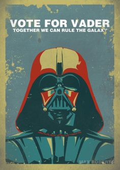 Star Wars Propaganda Poster (isn't it funny how this kind of looks like another propaganda poster?)