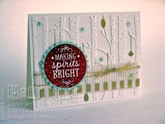 Among the Branches Christmas by JanTInk - Cards and Paper Crafts at Splitcoaststampers