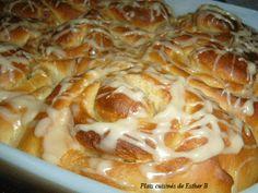 Les plats cuisinés de Esther B: Brioches à l'érable Esther, Croissant, Macaroni And Cheese, Sausage, Biscuits, Muffin, Dessert Recipes, Favorite Recipes, Meat