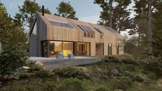 Skisseprosjekt Shed, Outdoor Structures, Backyard Sheds, Sheds, Coops, Barn, Tool Storage