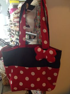 Mini mouse bag made for upcoming trip to disney