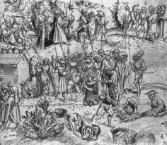 Artist: Cranach d. Ä., Lucas, Title: Martyrium des Hl. Julian, Date: ca. 1525-1530