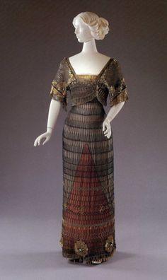 Evening Dress - 1910-11