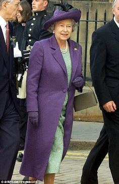 This is just one of the many outfits that the public will be able to get close to in celebration of the Queen's 90th
