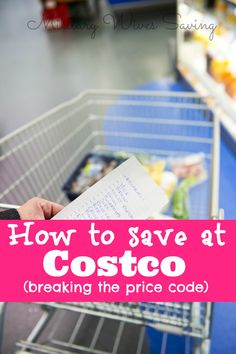 How to save money at Costco with their secret price codes!