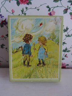 Engelse puzzeltje. www.brocantespulletjes.nl