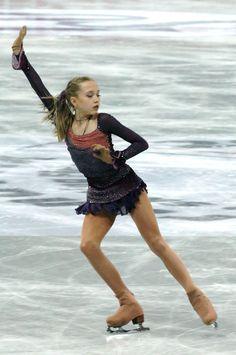 Elena Radionova - Purple Figure Skating / Ice Skating dress inspiration for Sk8 Gr8 Designs.