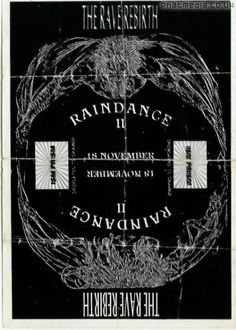 Raindance 1989 November - Early Rave Flyers