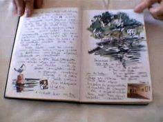 Cahier de Voyage - Carnet de dessins - Travel Book - STELA BARRETO