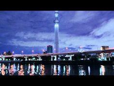 東京スカイツリーのライトアップを撮影した美しいタイムラプス。