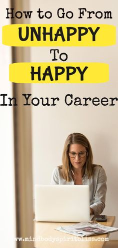 If you are fed up and unhappy with your job, then you need to read this. This is the career advice you need right now! This idea will change the whole outlook of your development in your career and lead you to choose a happier path. Work Life Balance Quotes, Enjoy Your Life, Motivational Posters, Career Advice, Believe In You, Finding Yourself, How Are You Feeling, How To Apply, Change
