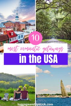 Romantic Getaways in USA | Luggage and Lipstick Romantic Destinations, Romantic Getaways, Romantic Travel, Travel Destinations, Travel Couple, Family Travel, United States Travel, Ultimate Travel, North America