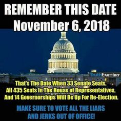 """But remember to VOTE in the PRIMARY FIRST. Get rid of the Rino Republicans and VOTE for more Conservative Republicans. Then, President Trump will get the help he needs to """"MAKE AMERICA GREAT AGAIN!!!!!!!!!"""