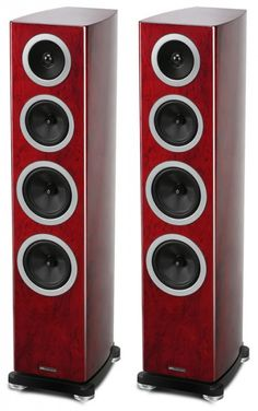 The Wharfedale Reva-3 is the smaller of the two floor standing speakers in the Reva range and is perfect for use in larger rooms with either hi fi set ups or in home cinemas. Rosewood. Audiophile Speakers, Speaker Amplifier, Audio Speakers, Center Speaker, Speaker Stands, Best Floor Standing Speakers, High End Speakers, Music System, Bookshelf Speakers