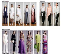 Preview Spring Summer 2015 apparel, shoes and make up by Adam Lippes, Balenciaga, Alberta Ferretti ----- pre-collezione moda trend Primavera Estate 2015 abbigliamento scarpe accessori e trucco