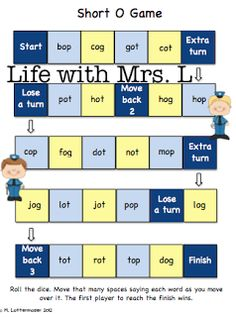Classroom Freebies: Short O Practice Teacher Freebies, Classroom Freebies, Teacher Tips, Classroom Ideas, Word Study, Word Work, Speech And Language, Language Arts, O Words