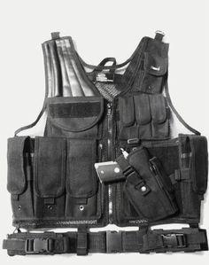 Item:10627899 SWAT/MILITARY TACTICAL ASSAULT VEST ACU-Camo-Black For Sale at GunAuction.com