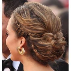 I just like the braid on the side but I would want my hair down.
