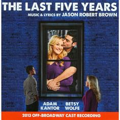 Jason Robert Brown - The Last Five Years (2013 Off-Broadway Cast Recording) (CD)