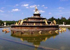 the second fountain Chateau de Versailles
