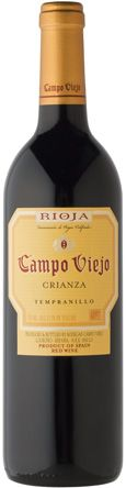 Campo Viejo Crianza Tempranillo Wine. Really delicious and only $9.99 in Utah.