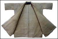 All Natural Hemp Small Jacket Shirt at kimonoboy.com Antique.