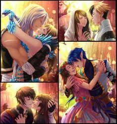 As imagens são lindas mas o evento é uma bosta Mystic Messenger, Diabolik Lovers, Anime Couples, Cute Couples, Romance, Saint Valentine, Valentine Cards, My Candy Love, Anime Toys
