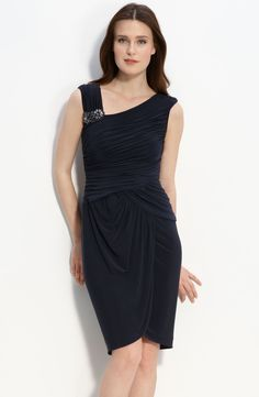Weddingwhoo.com Offers Popular A-line Straps Knee-length Draped Mother of the Bride Dress Priced At Only US$156.99 (Free Shipping)