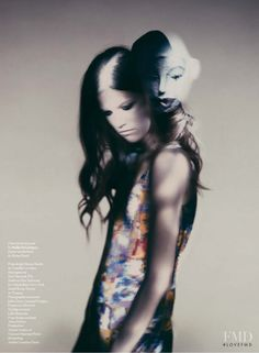 Kasia Struss featured in Kasia Struss by Paolo Roversi, February 2008