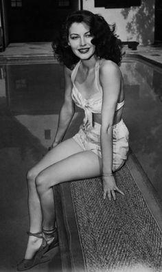 Ava Gardner - she was gorgeous Plus