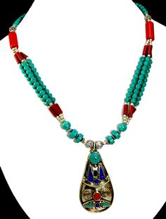 ethnic nepali local jewelry necklace newari necklaces style nepalese