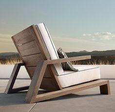 Have a Teak Lounge Chair - Dream Back Yard - Chair Design At Home Furniture Store, Deck Furniture, Steel Furniture, Woodworking Furniture, Pallet Furniture, Furniture Projects, Furniture Plans, Modern Furniture, Furniture Design