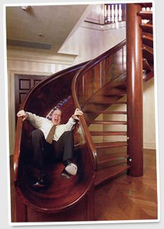 Stairs with slide - This will be mine
