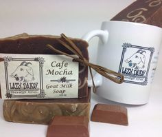 Cafe Mocha Goat Milk Soap